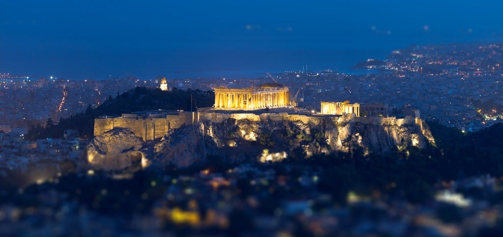 Acropolis night