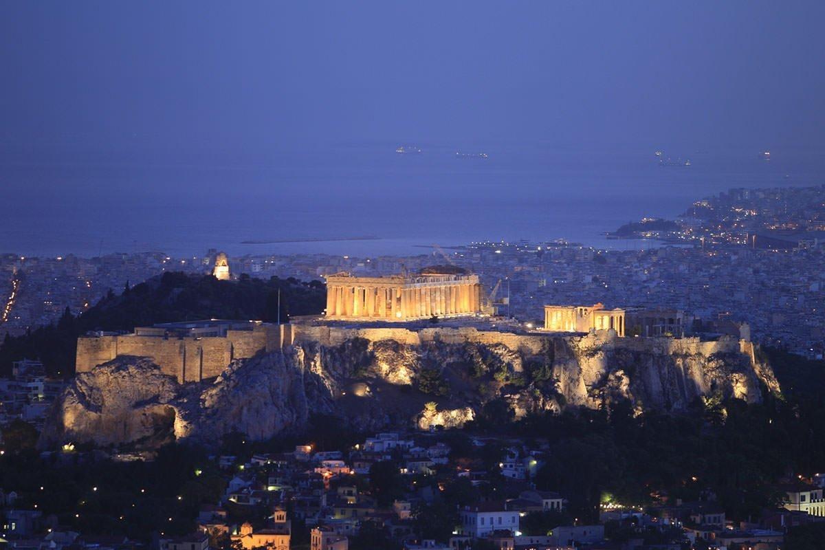 Night Athens Photo Tour