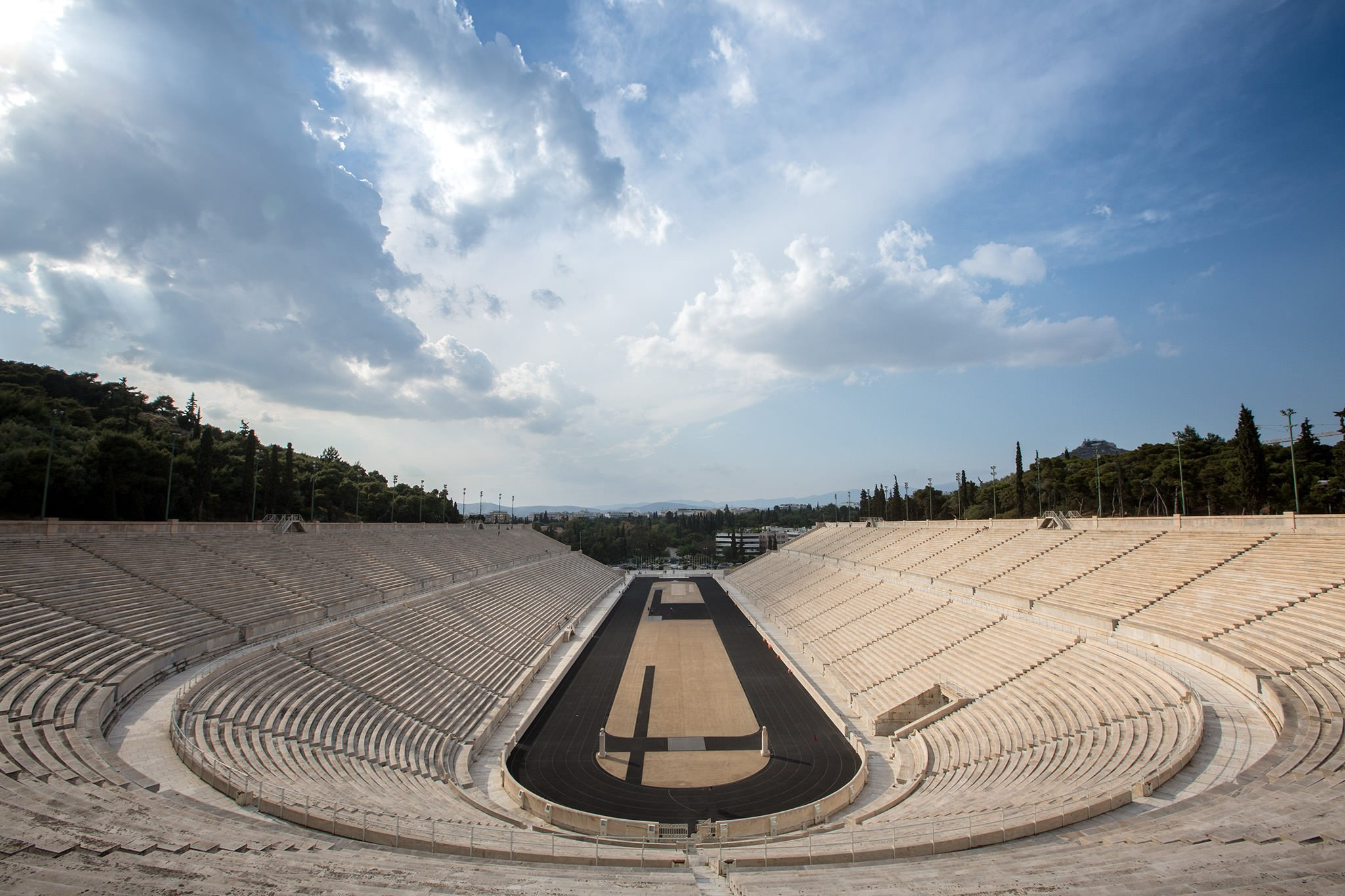 Athens tours, visit the Panathinaikon stadium for a photo tour