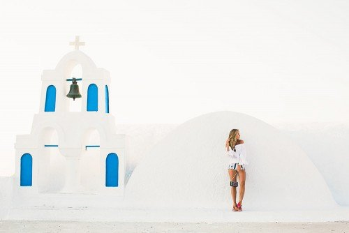 Santorini Photo Shoot